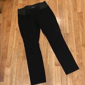 One 5 One Black Dress Pant Legging EUC - L